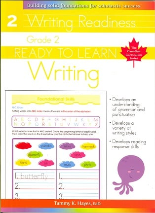 Grade 2 Writing (Ready to Learn, Canadian Curriculum Series)