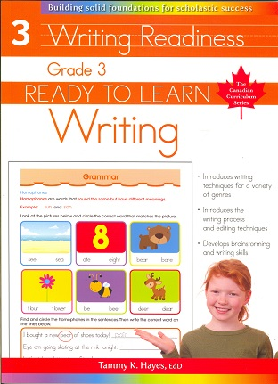 Grade 3 Writing (Ready to Learn, Canadian Curriculum Series)
