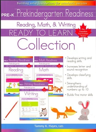 Prekindergarten Collection (Ready to Learn, Canadian Curriculum Series)