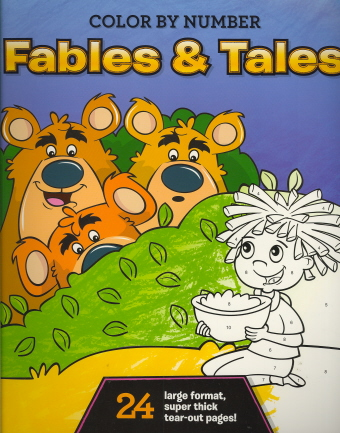 Fables & Tales (Color by Number)