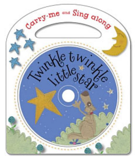 Twinkle, Twinkle Little Star: And Other Nursery Rhymes (Carry-Me and Sing Along)