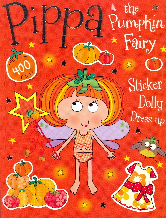 Pippa the Pumpkin Fairy Sticker Dolly Dress Up