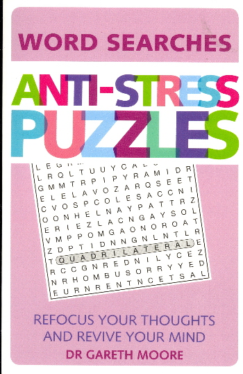 Anti-Stress Puzzles (Word Search)