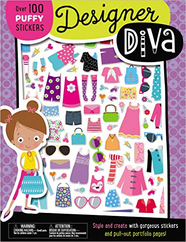 Designer Diva Activity Book (with Puffy Stickers)