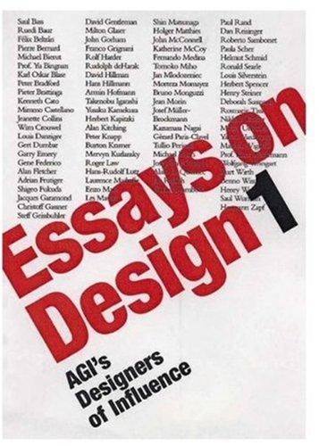 Essays on Design 1: Agis Designers of Influence (Paperback)
