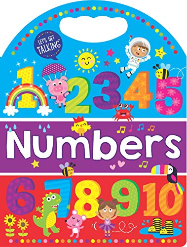 Numbers: Handled Board Book (Let's Get Talking)