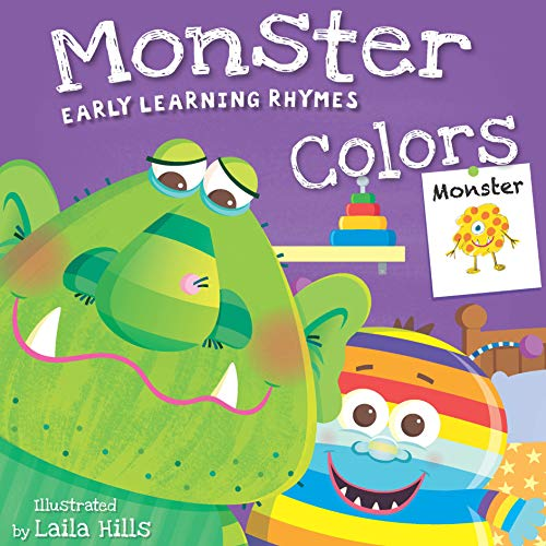 Monster Colors (Early Learning Rhymes)
