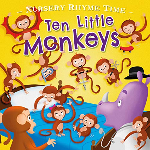 Ten Little Monkey's (Nursery Rhyme Time)