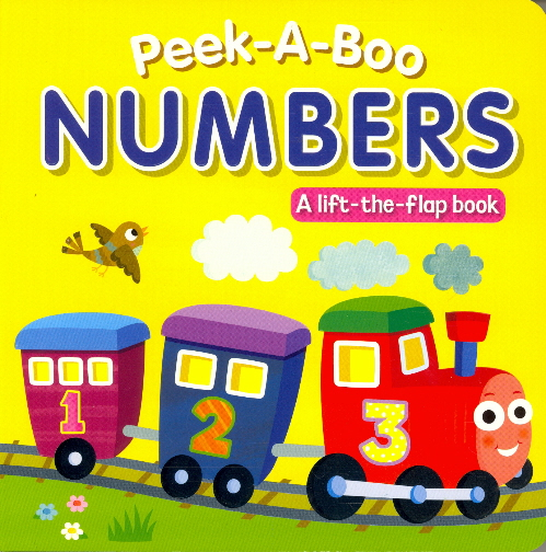 Peek-A-Boo Numbers Lift-the-Flap Book